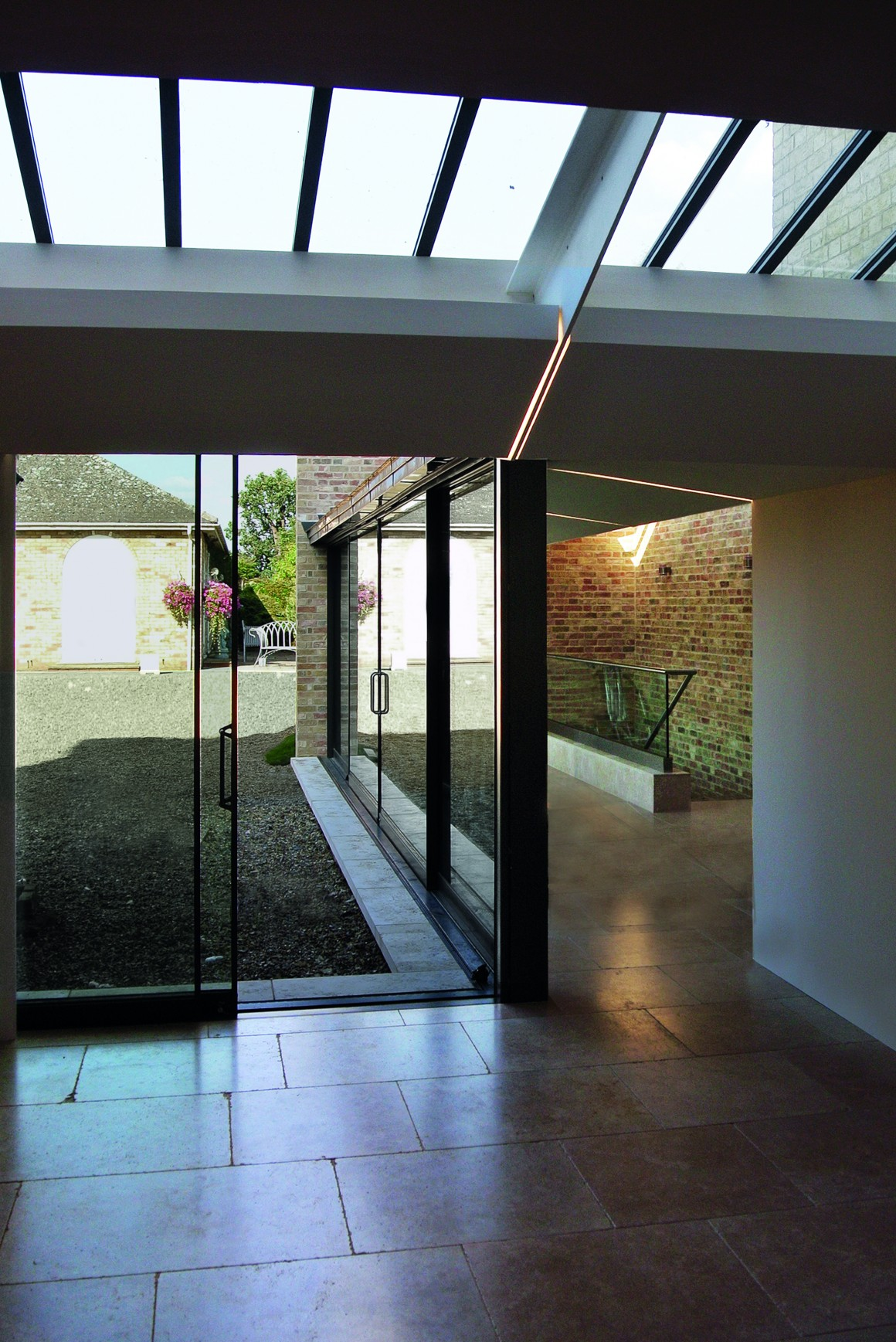 Hugh Cullum Architects, Internal view, Manor House near Huntingdon